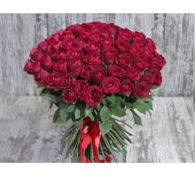 Букет из 101 кенийской розы 50 см