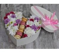 "Коробка ""Влюбленный сахарок"" с 6 макаронс"