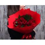 АКЦИЯ! 15 красных роз