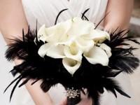 Свадебный букет с стиле Гетсби